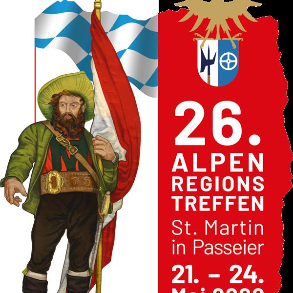 26. Alpenregionstreffen vom 21. bis 24. Mai 2020 in St. Martin/Passeier (Südtirol)