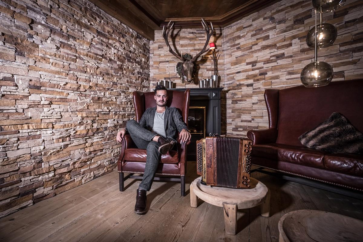 Jason Nussbaumer spielt auf dem 26. Alpenregionstreffen 2020
