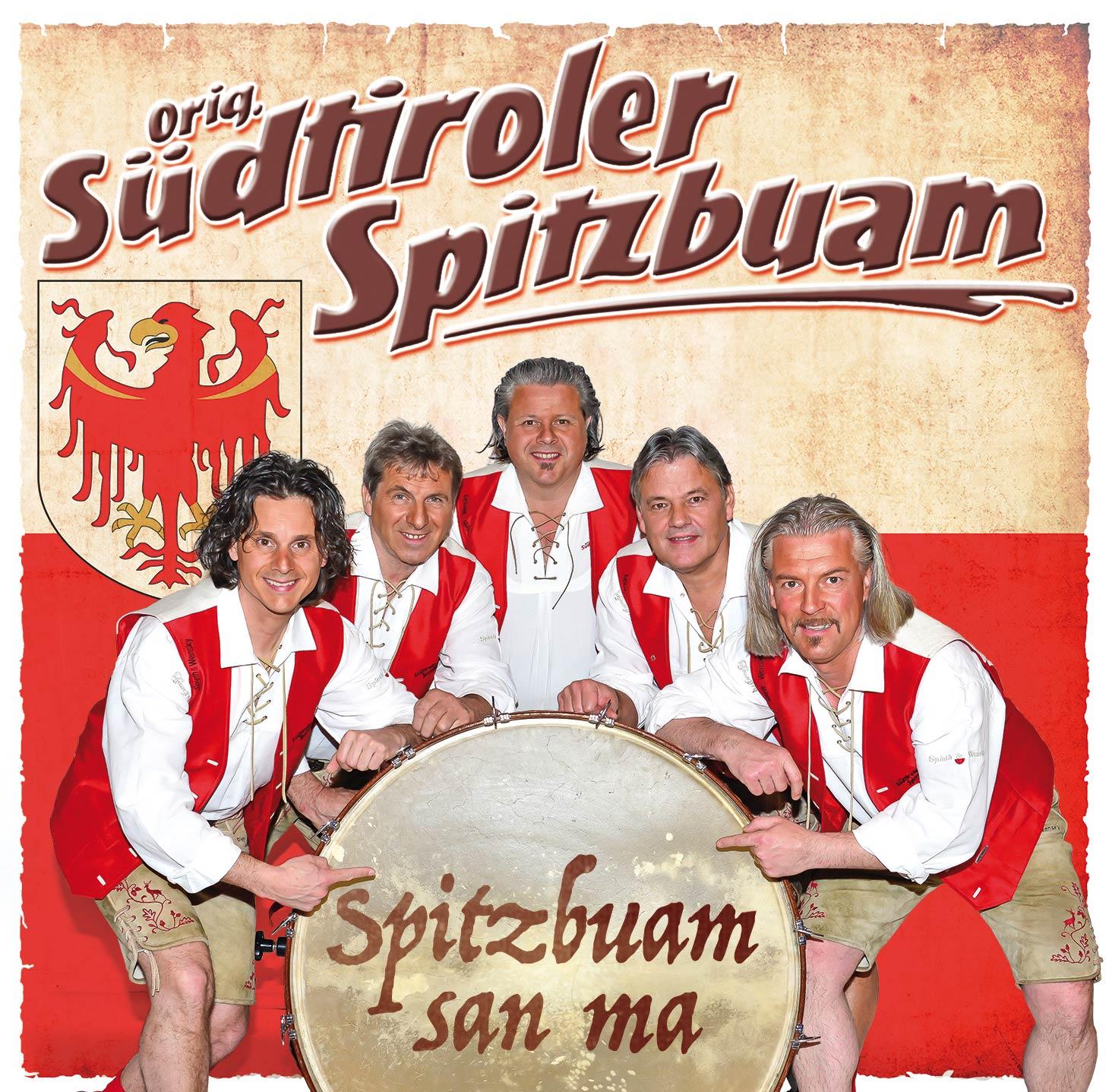 Die Südtiroler Spitzbuam spielen auf dem 26. Alpenregionstreffen 2020
