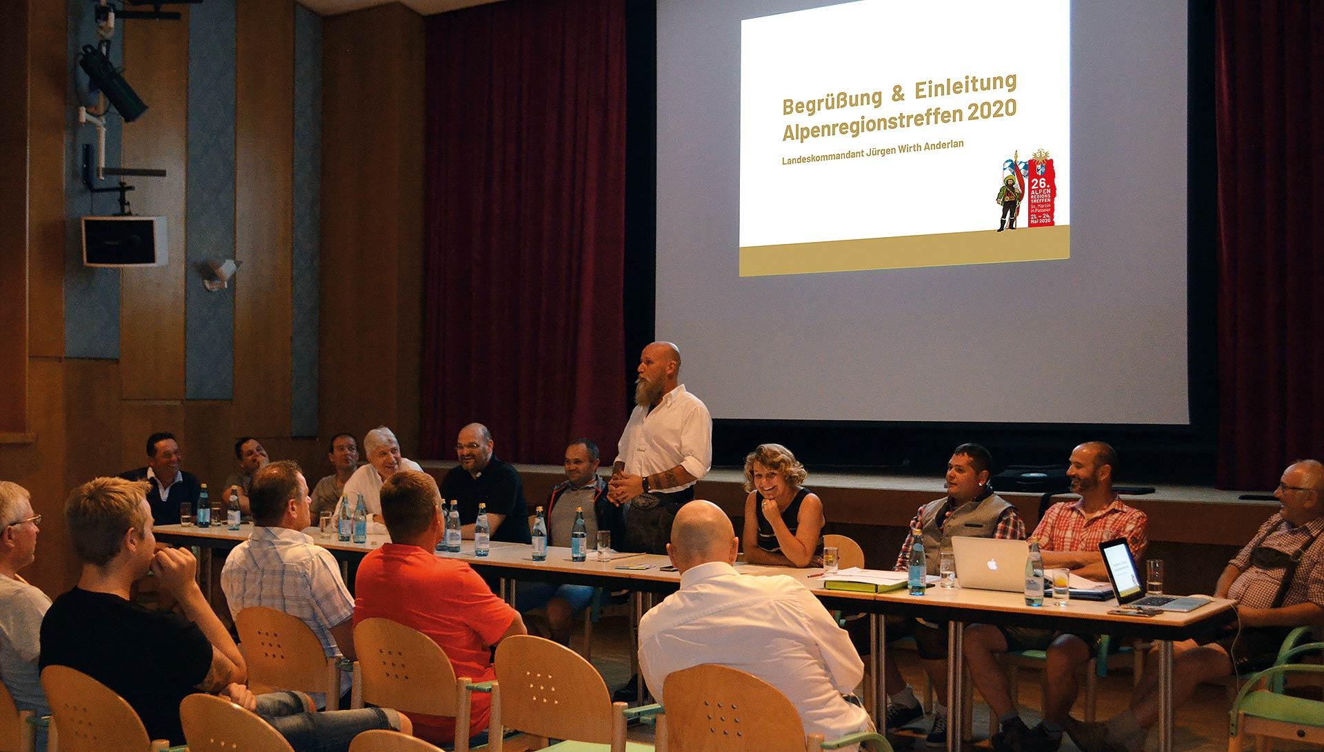 Alpenregionstreffen 2020: Passeirer Vereine ziehen an einem Strang