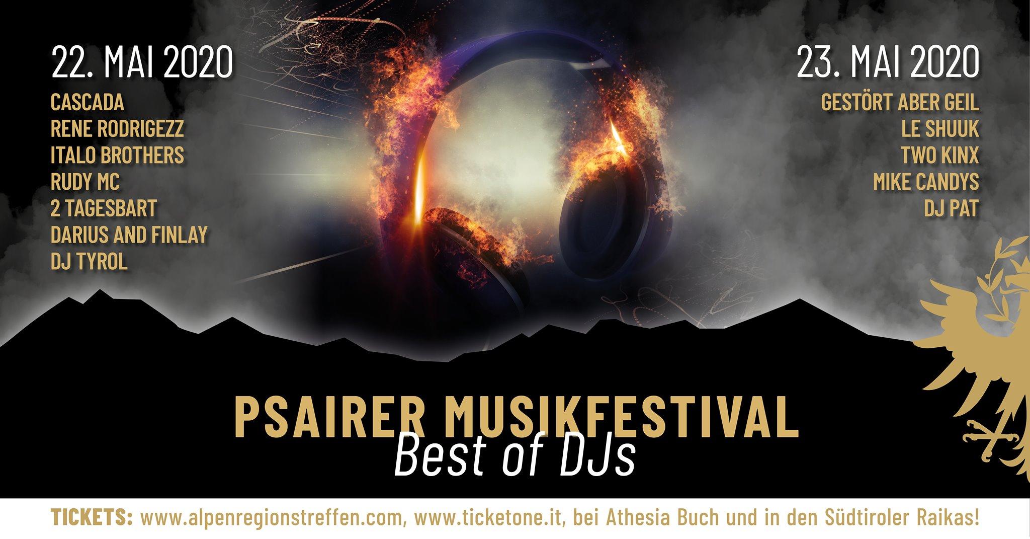 """Psairer Musikfestival – """"Best of DJs"""""""