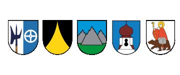 5 Passeirer Gemeinden