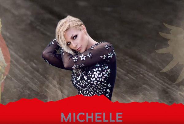 Michelle beim Alpenregionstreffen