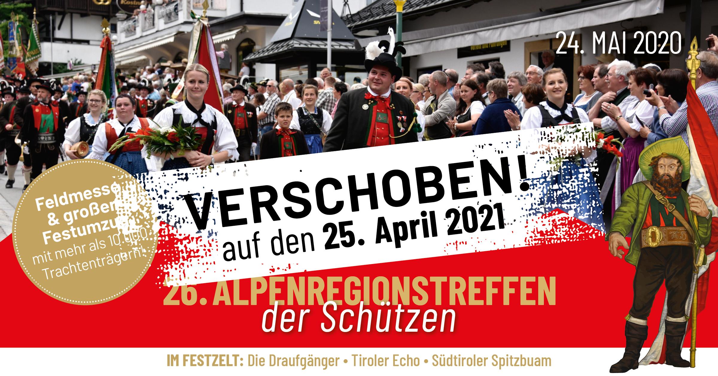 26. Alpenregionstreffen 2021 im Passeiertal