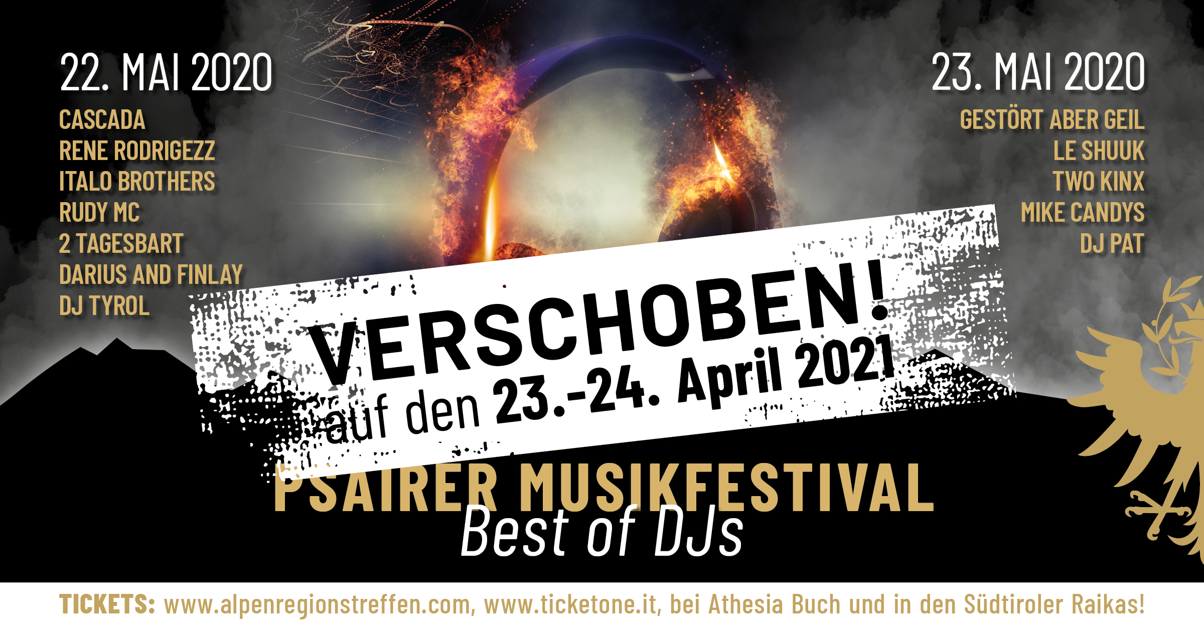 "Psairer Musikfestival – ""Best of DJs"""