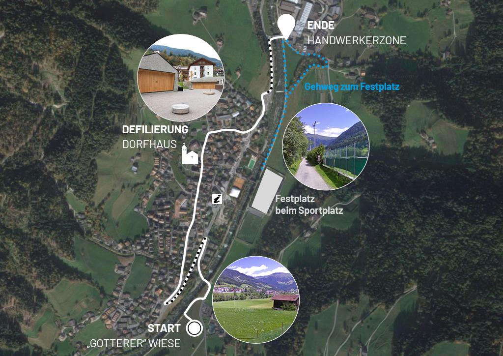Festzug Alpenregionstreffen 2021