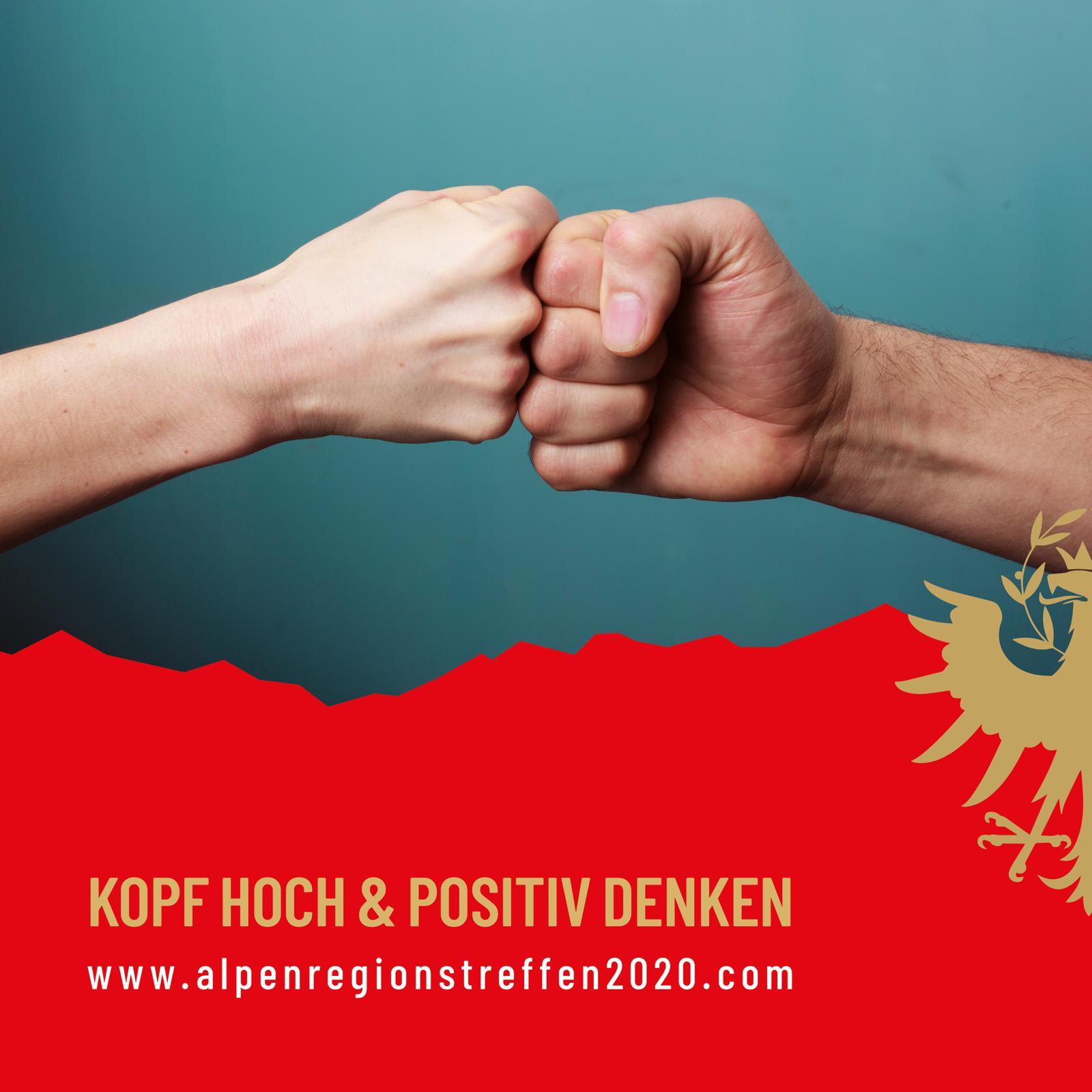 26. Alpenregionstreffen 2020 – 𝗣𝗢𝗦𝗜𝗧𝗜𝗩 𝗗𝗘𝗡𝗞𝗘𝗡!