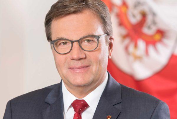 Landeshauptmann Günther Platter übernimmt Schirmherrschaft